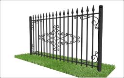 Какой забор дешевле - бетонный или из профнастила | Bulat | 160x255
